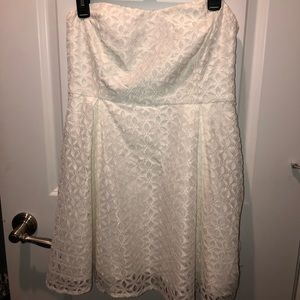 NWT white cocktail dress